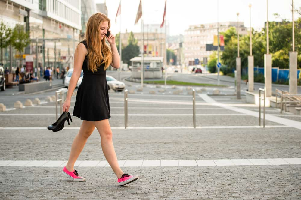 Reasons Walking Shoes Have Become Trendier Than Heels